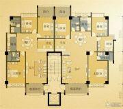 凤凰城4室2厅2卫122平方米户型图