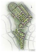 北京城建龙樾生态城规划图