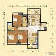 正升华府3室2厅2卫145--150平方米户型图