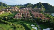 八达岭孔雀城原山著实景图