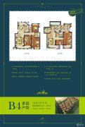 叶与城5室3厅3卫204平方米户型图