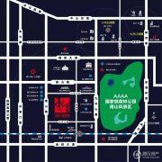 绿地・新里城交通图
