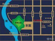 恒泰珑湖交通图