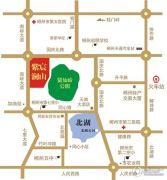 紫宸澜山二期交通图