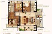 金融街融穗澜湾3室2厅2卫0平方米户型图