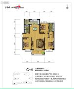 勒泰家园2室2厅2卫0平方米户型图