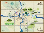 碧桂园莫奈的湖交通图