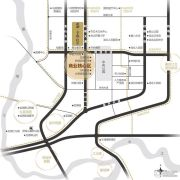 龙湖景粼玖序交通图