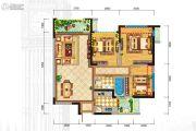 格林城3室2厅1卫90平方米户型图
