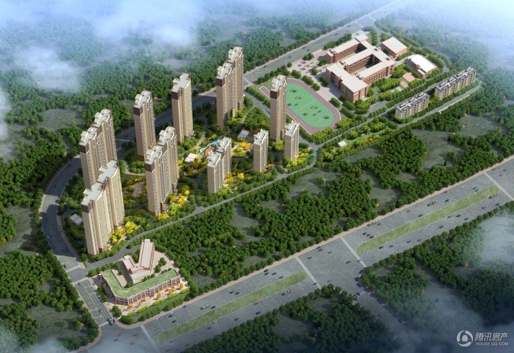 碧桂园生态城东境效果图