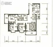 东旭骏城4室2厅2卫117平方米户型图