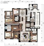 紫辰院345平方米户型图