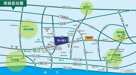 伍家岗街道地图