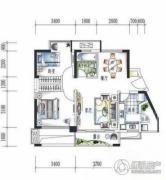 禾田居曼湾2室2厅1卫0平方米户型图