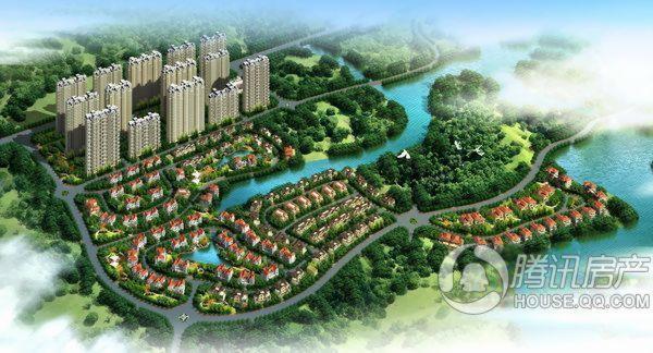 碧桂园新亚山湖城效果图