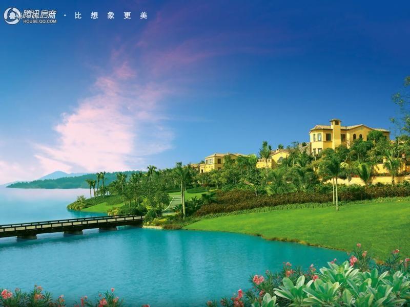 中国美林湖爱琴海效果图