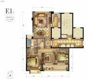 新希望・白麓城3室2厅2卫107平方米户型图