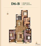 国瑞瑞城4室2厅2卫160平方米户型图