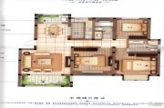 橡树城3室2厅2卫129平方米户型图