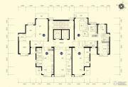 恒大名都2室2厅1卫88--89平方米户型图