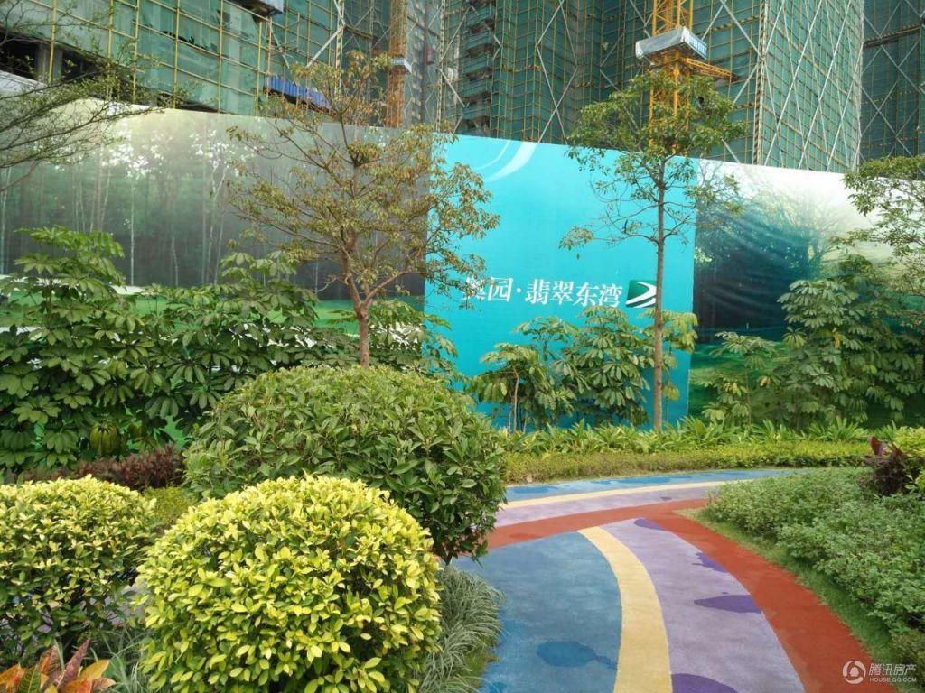 奥园翡翠东湾实景图