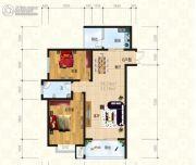锦天・生态城2室2厅1卫95平方米户型图