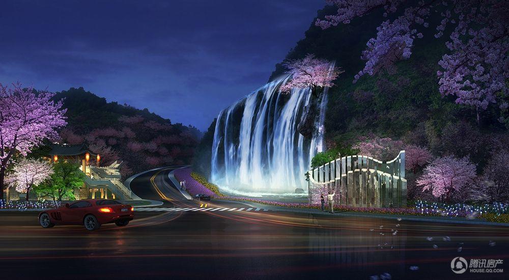 抚仙湖畔樱花谷 效果图