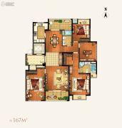 颐和湾花园4室2厅2卫167平方米户型图