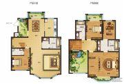 南湖燕园3室2厅4卫255平方米户型图