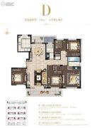 星公元名邸5室2厅2卫169平方米户型图