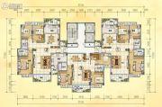 润晖新城3室2厅2卫121--142平方米户型图