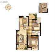 万科维园2室1厅1卫95平方米户型图