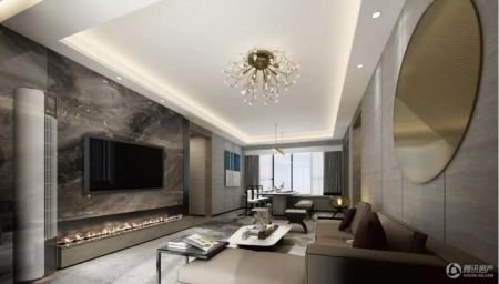跃层一楼花园效果图_领南丨星河·荣誉-楼盘详情-广州腾讯房产