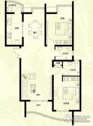星河御城2室2厅2卫124平方米户型图