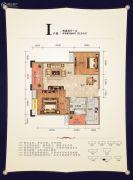 元泰・未来城2室2厅1卫96平方米户型图