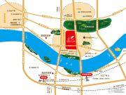 碧桂园江与�w交通图