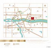 中天・江上明月交通图