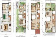 利丰中央公园5室4厅3卫0平方米户型图