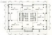 旺南世贸中心5室1厅1卫100平方米户型图