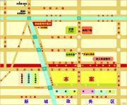 新城壹号交通图