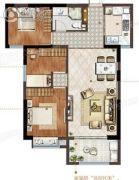当代滨江府3室2厅1卫0平方米户型图
