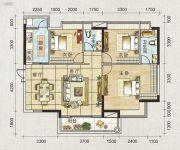 海天瑶3室2厅2卫113平方米户型图