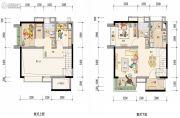 保利i立方0室0厅0卫97平方米户型图