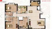 阳光渭水华庭3室2厅2卫148平方米户型图