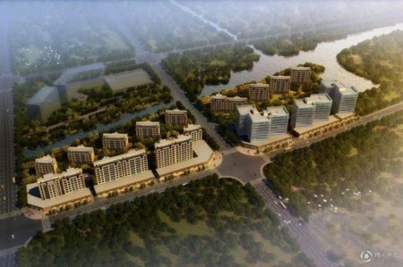 合景领峰位于上海嘉定新城中心区内。地铁11号线嘉定新城站东北方位,距离约0.5公里左右。四至为:东至规划路,西至云古路,北至依宁路,南至希望路。地块中心位置被合作路以及石门塘分为3个小地块。合景领峰为高端综合体,由3栋办公楼、13栋低密度的高品质住宅及五星级酒店构成,总建筑面积(不含酒店部分)约为11.