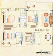 大唐盛世4室2厅2卫120--150平方米户型图