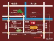佛山富力广场交通图