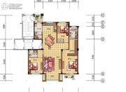 美弗霞湾3室2厅3卫139平方米户型图