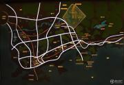 全球候鸟度假地交通图