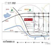 时代康桥交通图